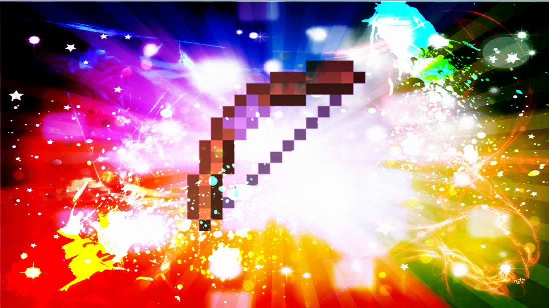 minecraft backgrounds  bow