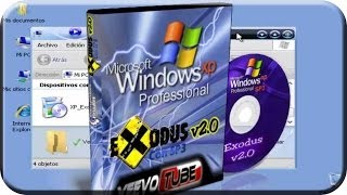 Windows XP Exodo 2009 V 2.0 (excelente Para Pc's Antiguas
