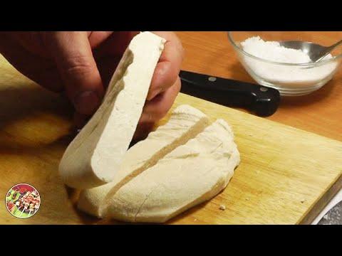 Пошаговое приготовление домашнего сыра