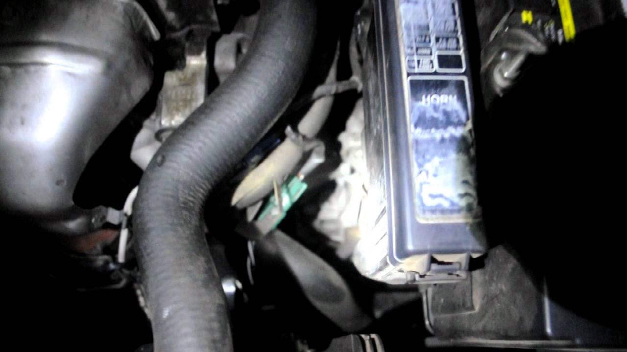 nissan maxima fuel pump location