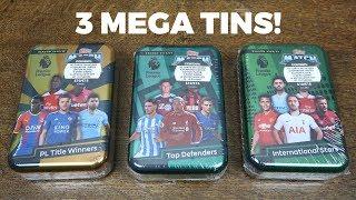 3 MEGA TINS! Match Attax 2018/19 Premier League