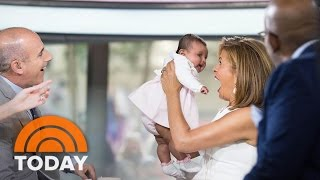Hoda Kotb's Baby Haley Joy Joins TODAY For A Sweet Mother's Day Surprise!   TODAY