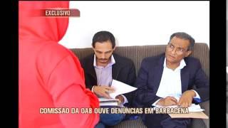 Comiss�o da OAB ouve den�ncias em Barbacena