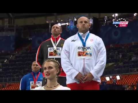 German anthem , IAAF Moscow 2013