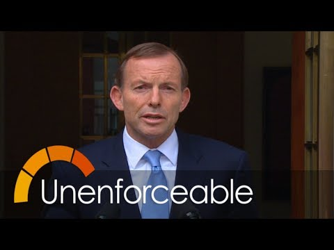 Does the Abbott Government have a mandate?