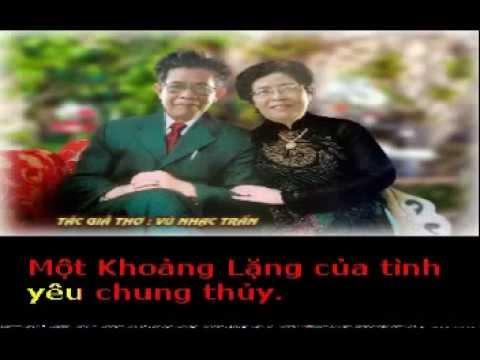 KHOẢNG LẶNG - Thơ : Vũ Nhạc Trần - Phổ nhạc : HẢI ANH karaoke