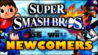 Super Smash Bros. For Wii U/3DS 10 Character Wish List