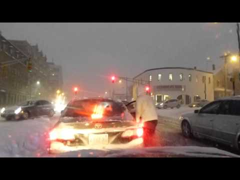 How to deal with the streets and parking in a Boston snowstorm