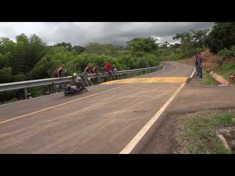 Raw Run Streetluge At caimitillo PANAMA