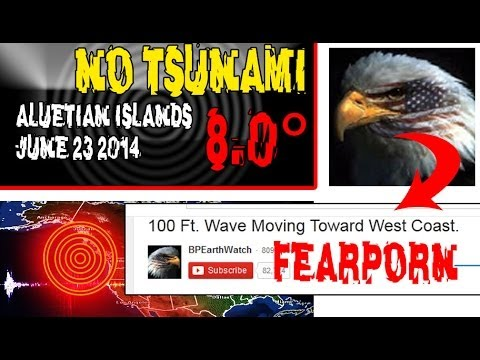 ALASKA QUAKE - NO TSUNAMI - LET'S STOP THE FEAR-PORN!
