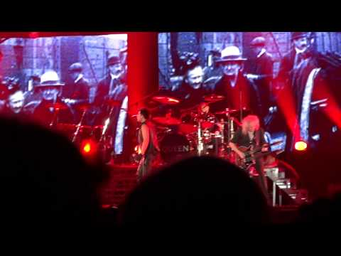 Queen + Adam Lambert - Under Pressure - Wroclaw 2012