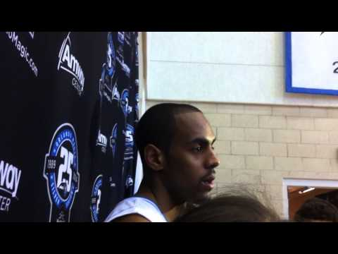 2013 Orlando Magic Media Day: Arron Afflalo