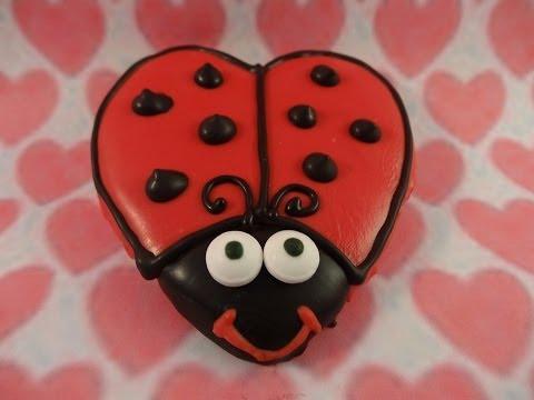 Valentine's Day Love Bug Cookies