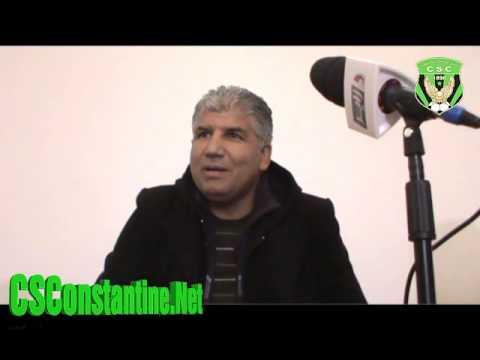 الندوة الصحفية لمحمد بولحبيب 29/11/2013 : القانون الداخلي و التقرير المالي