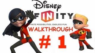Disney Infinity Gameplay Walkthrough: Incredibles Part 1