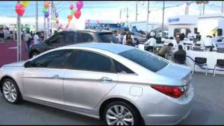 Hyundai Sonata En El Motor Show 2010 Todoautos.pe