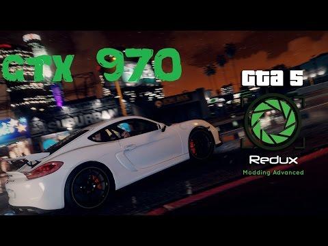 GTA 5 REDUX GTX 970 STRIX & FX-8320 @ 4.6GHZ - 1440P GAMEPLAY