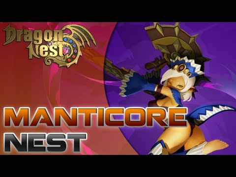 Dragon Nest - CN - Kali Level 60 [Manticore Nest - Solo] - YouTube