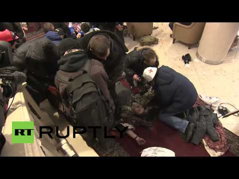 Ukraine: Priests on hand for injured and dying protesters *GRAPHIC*