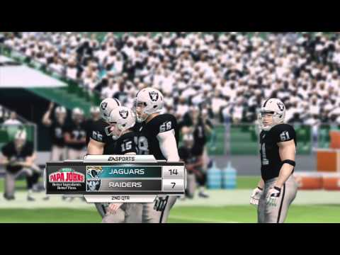 Madden NFL 25 - Raiders vs Jaguars Gameplay (Xbox 360) Full Game!