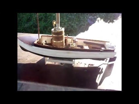 African Queen  steam model boats