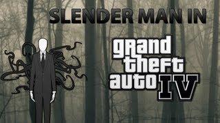 GTA IV Mods Slender Man Mod!