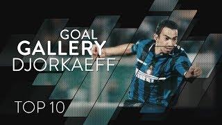 YOURI DJORKAEFF | INTER TOP 10 GOALS | Goal Gallery 🇫🇷🖤💙????