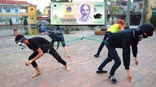 NTN - Thử  Chơi Kéo Co Cướp Tiền ( Tug Of War Money )