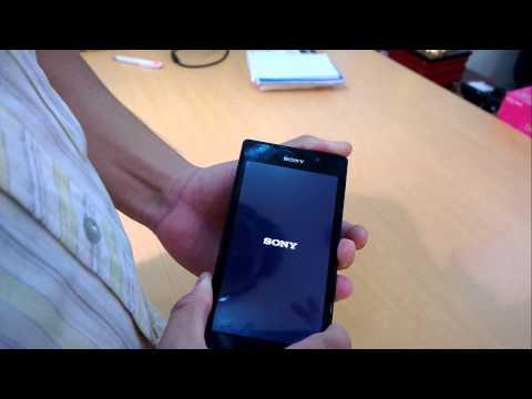 Cách tháo lắp và Reset điện thoại Xperia C