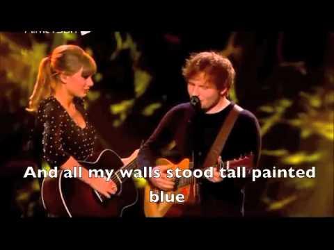 Taylor Swift & Ed Sheeran - Everything Has Changed (Live + Lyrics)