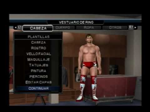 Wwe Smackdown vs Raw 2011 - How to create to Daniel Bryan(Mi Caw)(PS2)