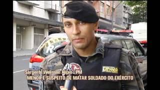 Adolescente suspeito de matar soldado � apreendido durante opera��o na Capital