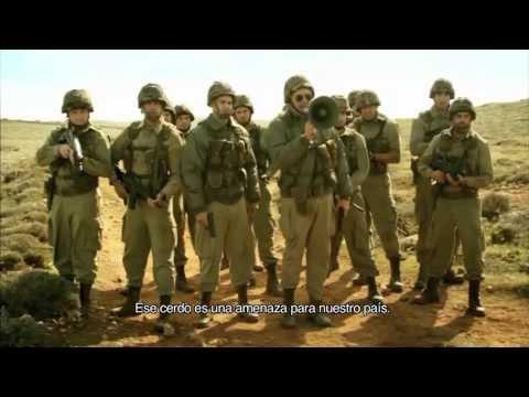 Un cerdo en Gaza - Trailer subtitulado español HD