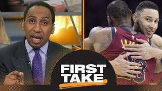 Stephen A. picks 76ers to go to NBA Finals if LeBron James loses | First Take | ESPN