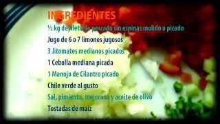 Ceviche De Pescado, Receta Para Preparar