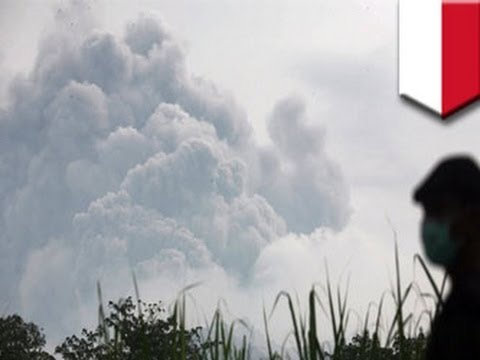 Volcanic eruption forces evacuation of 200,000 people in Indonesia