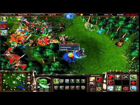 Warcraft 3 Ket thuc cua Undead tran dau khoc liet