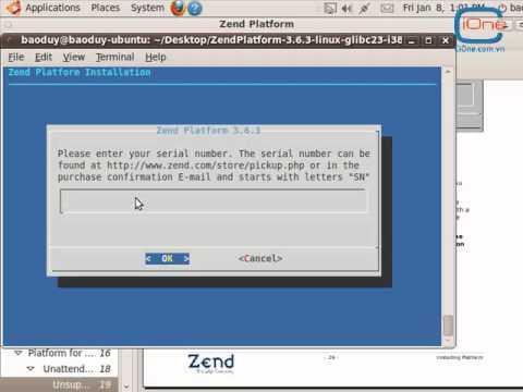 Hướng dẫn cài đặt Zend Studio và Zend PlatForm trên Ubuntu (Linux)