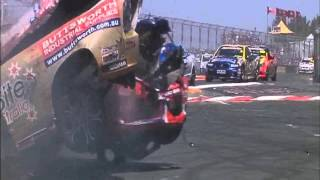 V8 Ute Racing Series Australia Cam Wilson Channel Seven Footage