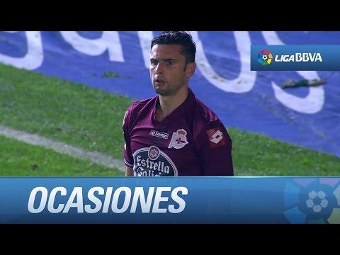 Todas las ocasiones del Córdoba CF (0-0) Deportivo de la Coruña