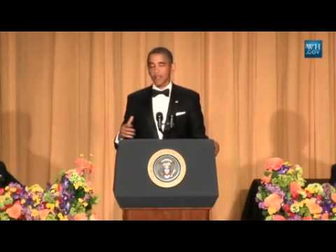 Obama Jokes At 2013 White House Correspondents Dinner