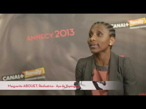 Annecy 2013   Marguerite Abouet
