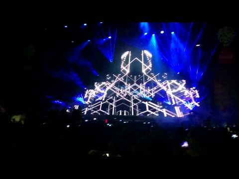 Calvin Harris - Blame Lollapalooza Chile 2015 60fps