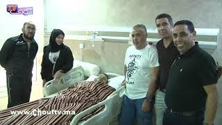 بعد نجاح العملية..اللاعب الدولي السابق الحضريوي يشكر لقجع من قلب المصحة | خارج البلاطو