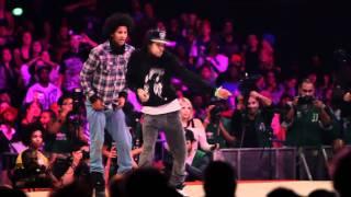 Les Twins Vs Lil'O & Tyger B Juste Debout 2011 Semi