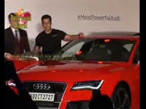 Salman Khan launches new quattro car
