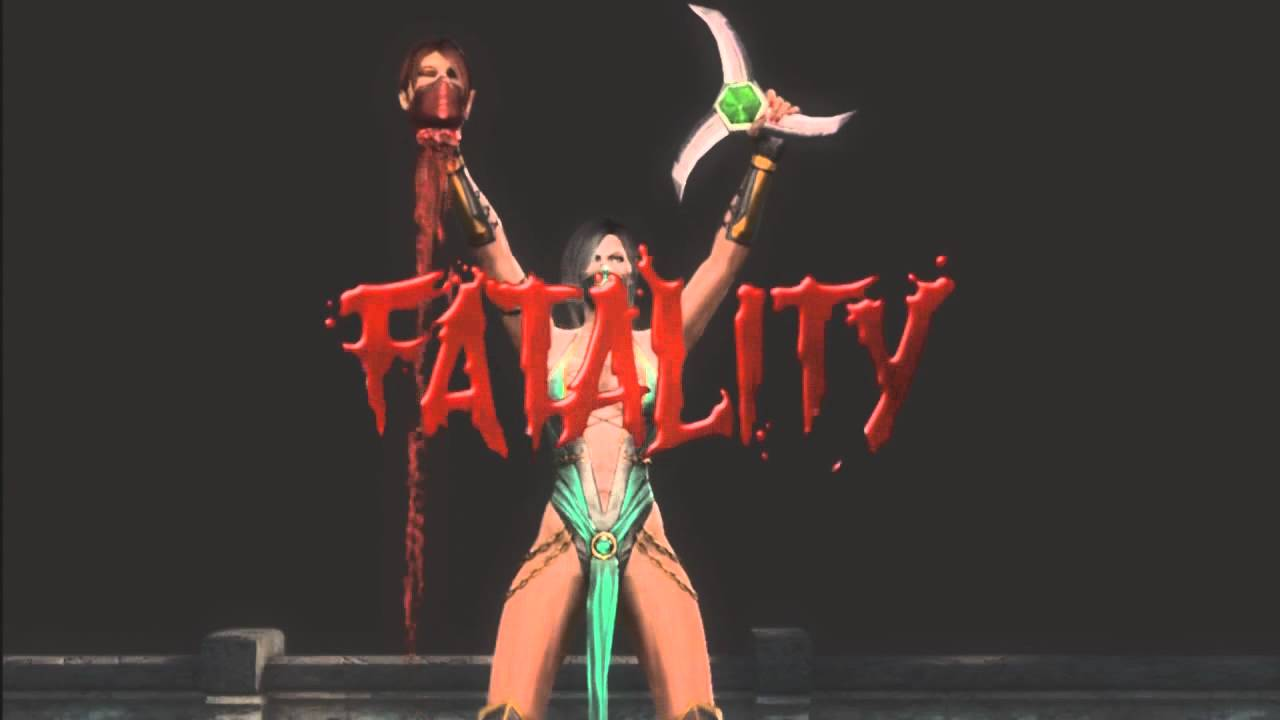 Mortal kombat 9 fatalities on kitana
