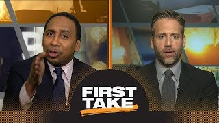 Stephen A. and Max get heated during Carmelo Anthony and Mike D'Antoni debate | First Take | ESPN