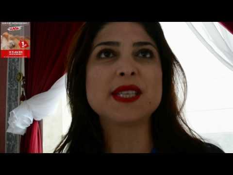 ميدلت : هدى رجب فنانة تشكيلية تونسية في الصالون الدولي للفن المعاصر في نسخته الاولى