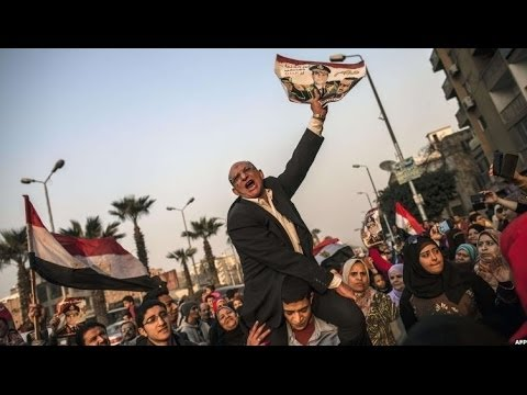 EGYPT REFERENDUM: VOTE UNDER WAY AMID TIGHT SECURITY - BBC NEWS